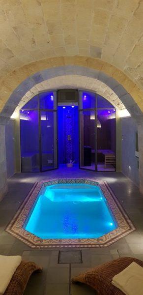 progetto piscina in palazzo
