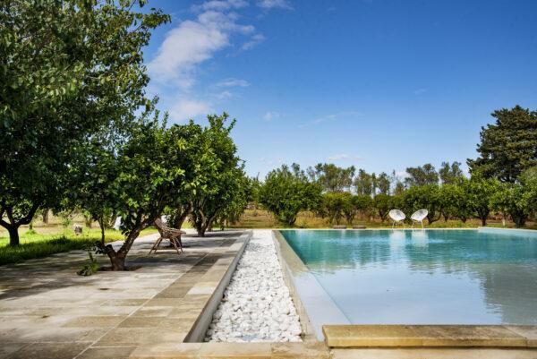 Masseria con piscina le Menze
