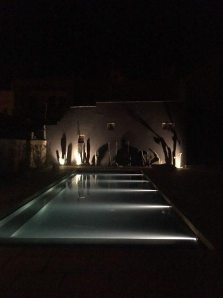 SYS Piscine Foto piscina di notte