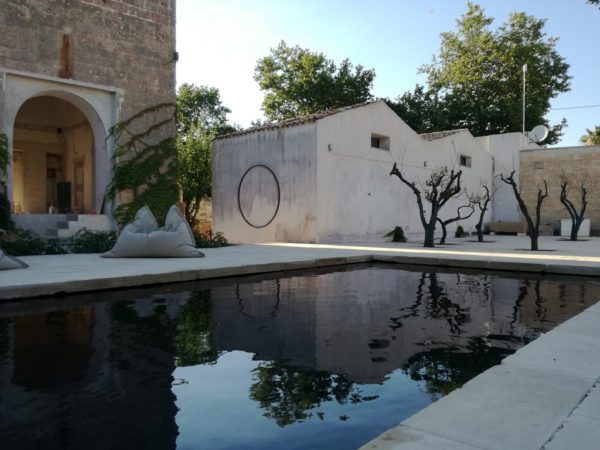 progetto piscina Palazzo Petrucci