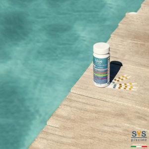 SYS Piscine analizzatore strisce piscina blue check app