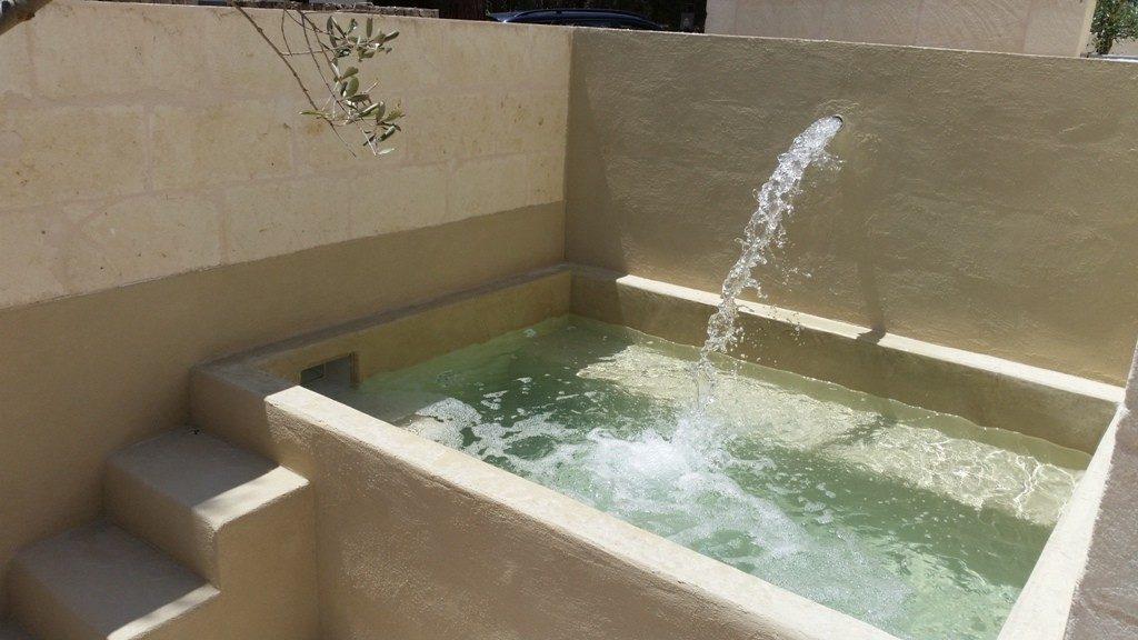 SYS Piscine vasca in cemento e impermeabilizzazione con intonaco interna