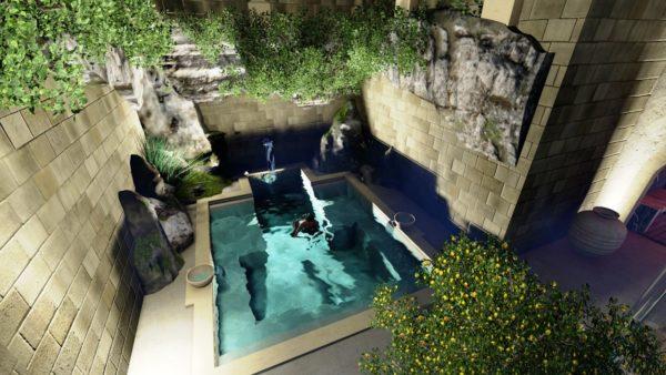 SYS Piscine progettazione piscina centro benessere gallipoli