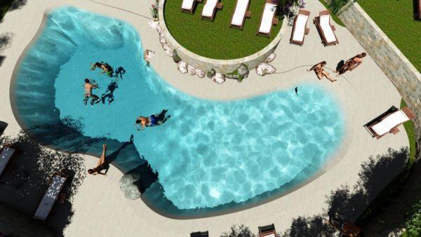 SYS Piscine progettazione piscina esterne naturali lecce