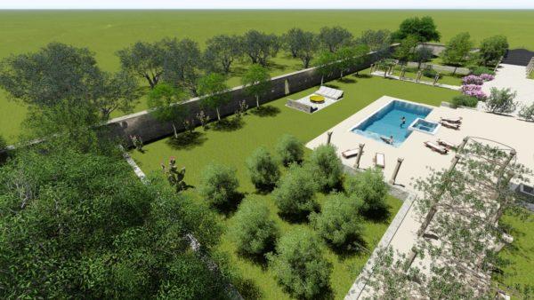 SYS Piscine progettazione piscina lusso maglie