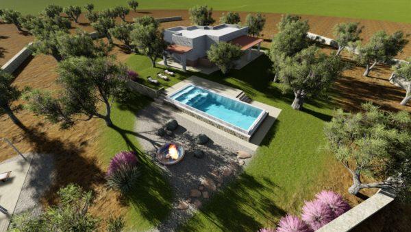 SYS Piscine progettazione piscina sfioro infiniti a salve