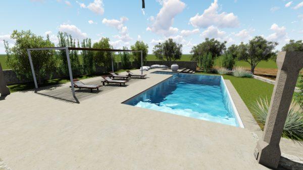 SYS Piscine progetto piscina design pescoluse