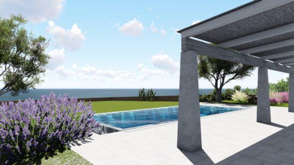 SYS Piscine progetto piscina design torre vado