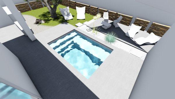 SYS Piscine progetto piscina idomassaggio privata