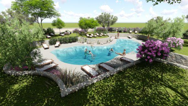SYS Piscine progetto piscina pubblica naturale