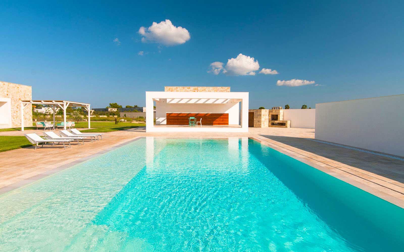 SYS Piscine prospettiva piscina