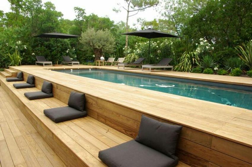 Piscine fuori terra eleganza design e qualit nei materiali - Ipoclorito di calcio per piscine ...